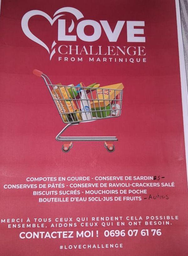 Love Challenge de Martinique