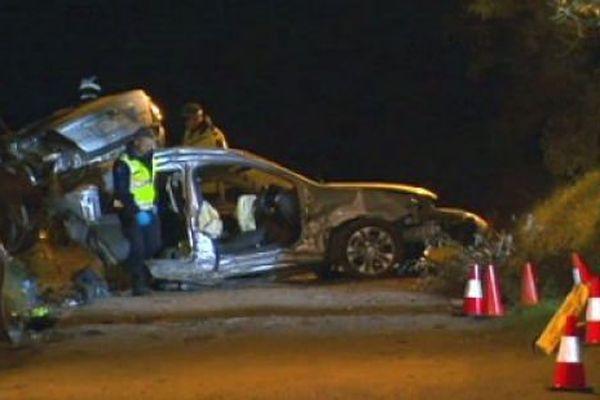 Australie : accident de la route