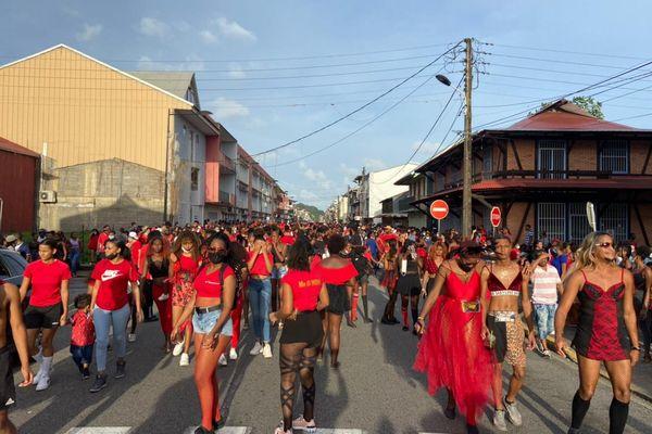 Mardi gras à Cayenne