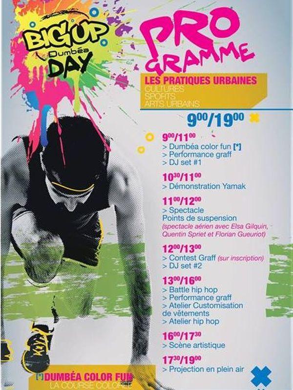 Programme du Big up day à Dumbéa 2018