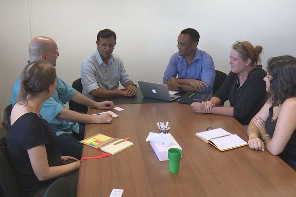 Rencontre Université de Guyane et Unifap