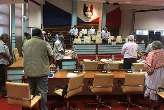 Minute de silence au Congrès, mémoire de Bertrand Pimé, 10 janvier 2019.