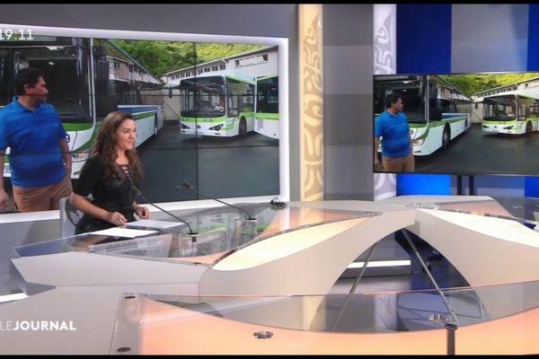 Environ la moitié des bus roulent encore à Tahiti