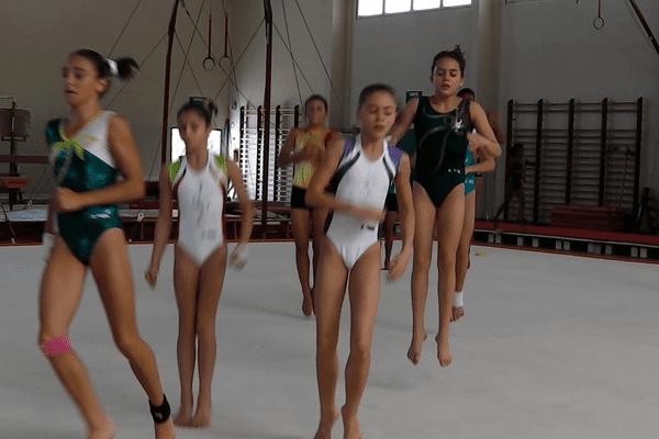 L'entrainement des gymnastes