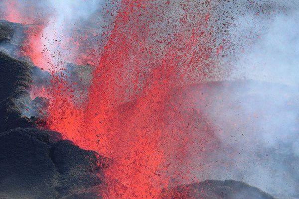 20170714 Eruption Piton de La Fournaise