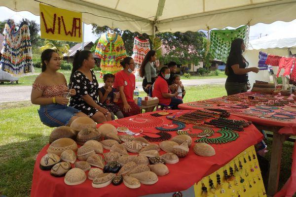 Matoury : Le village amérindien arawak Sainte-Rose-de-Lima fête la journée des peuples autochtones
