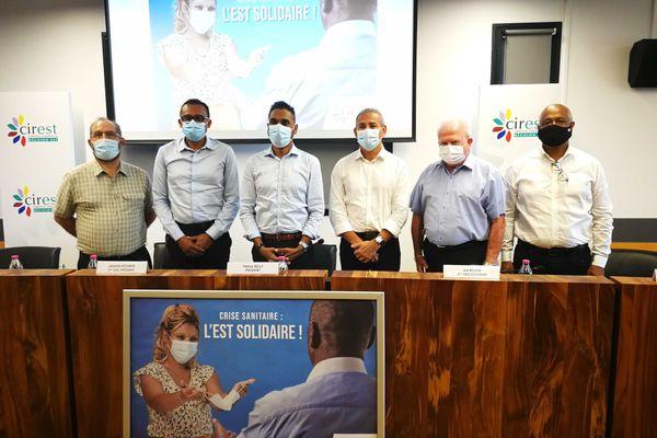 Les élus de l'Est ensemble contre le coronavirus