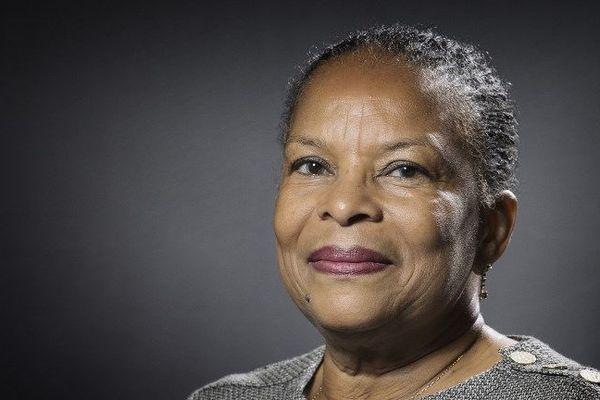 Christiane Taubira reçoit un prix européen de lutte contre l'homophobie