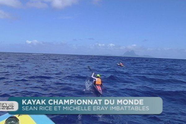 Championnat du monde de kayak : Sean Rice et Michelle Eray imbattables