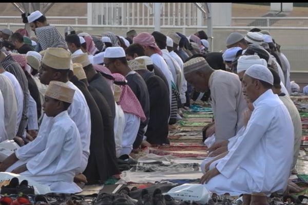 Cérémonie de l'Eid l Kebir