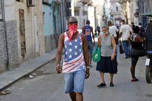 Dans les rues de La Havane, le 2 avril