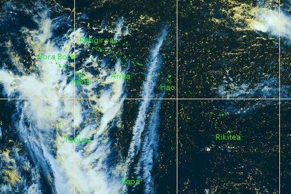 Les Iles Sous Le Vent toujours sous la menace d'orages