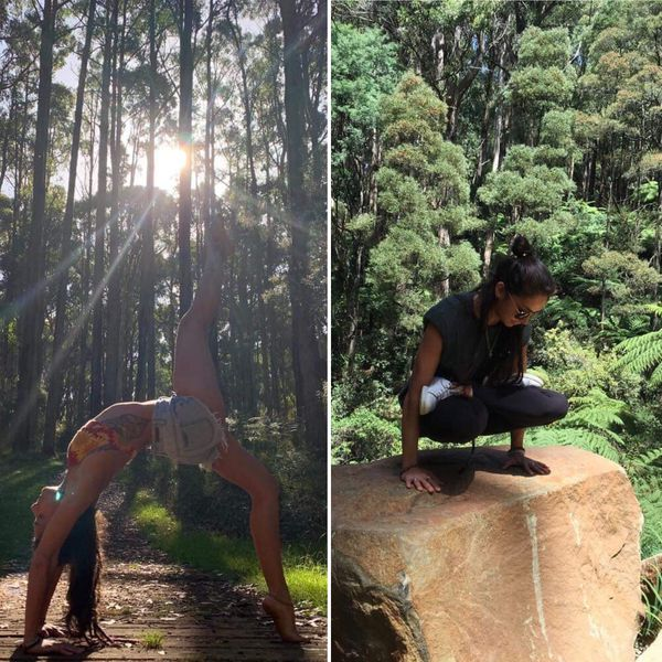 C'est à Melbourne que Marie découvre le yoga
