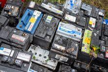 Des batteries et des déchets spécifiques à exporter (photo d'illustration).