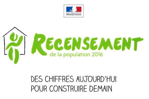 Logo recensement 2016