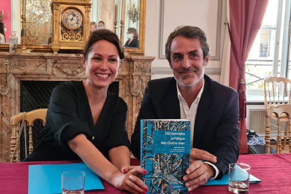 Géraldine Giraudeau et Mathieu Maisonneuve