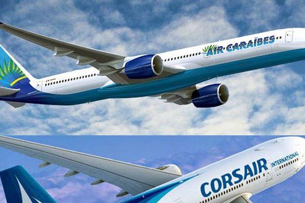 Air Caraïbes et Corsair