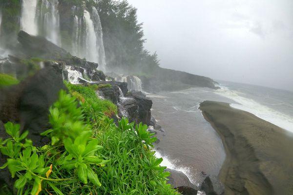 cascade et bassin du Tremblet