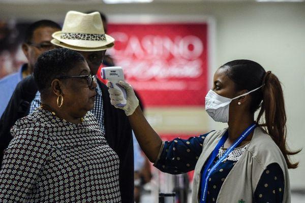 controles aéroport haiti