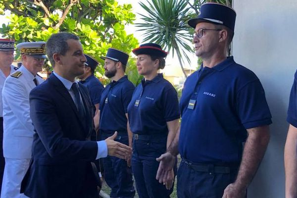 Les douanes au coeur de la visite de Gérald Darmanin
