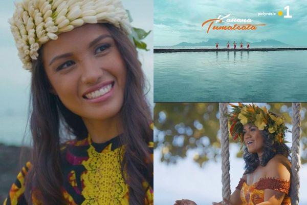 """""""Tumateata"""" : dans son nouveau clip, Kauana Rataro rend hommage à toutes les vahine"""