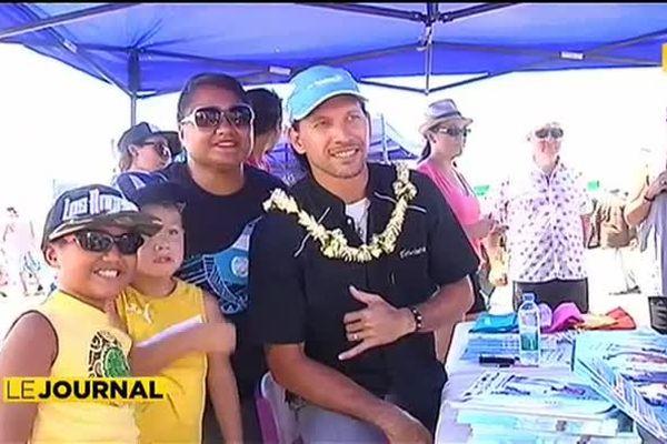 Teheiura préside le BBQ contest
