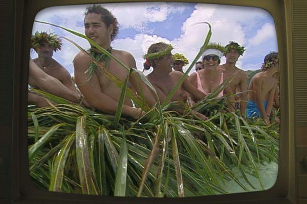 La pêche aux cailloux à Maupiti