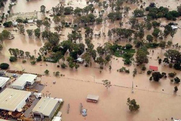 Certains quartiers de Sydney sous les eaux