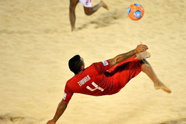Tiki toa beach soccer