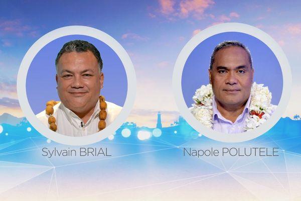 candidats légilative partielle wallis et futuna S.Brial et N.Polutele