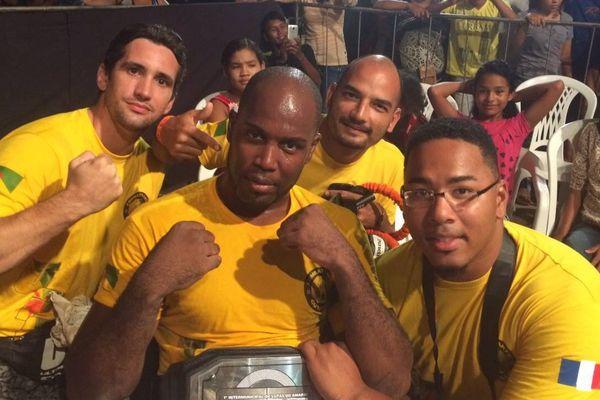 L'équipe des combattants guyanais