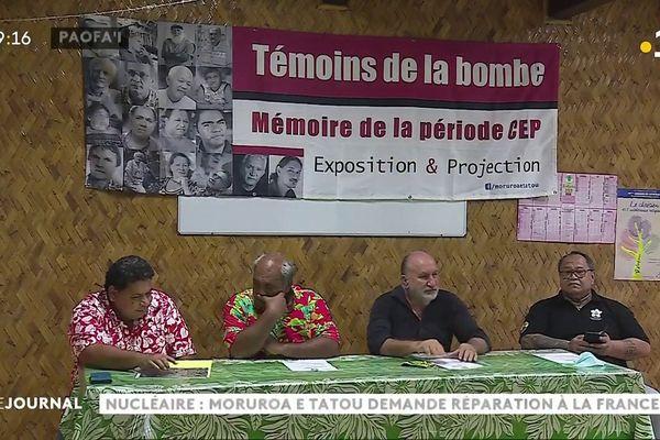 Nucléaire : Moruroa e tatou et l'église évangélique maohi appellent à une marche le 2 juillet
