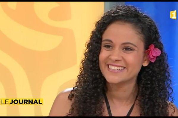 Calixte Cerise en guest star pour l'élection de Miss Tahiti
