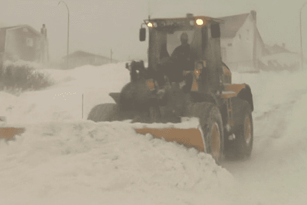 Tempete neige mars