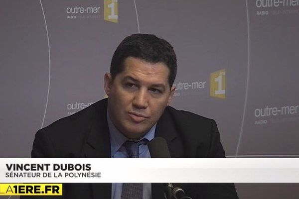 Vincent Dubois sénateur de Polynésie