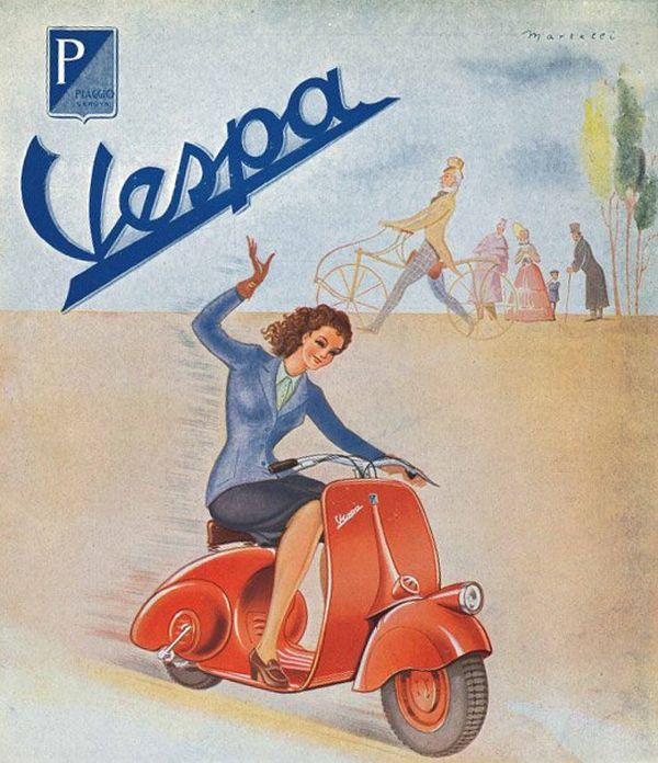 Publicité Vespa