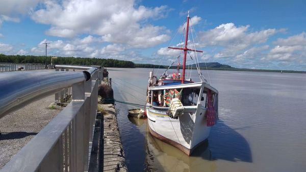 Le bateau de pêche Altamira