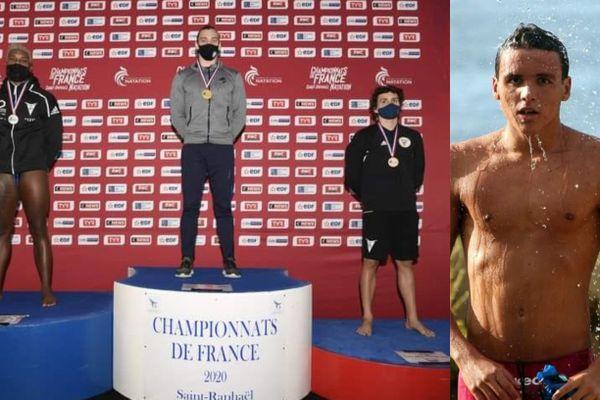 Julien Berol, 19 ans, ancien nageur du Longvilliers club du Lamentin (Martinique), licencié au cercle des nageurs de Marseille depuis juin 2020, a décroché  aujourd'hui (13 décembre 2020), la médaille de Bronze sur la distance du 100 mètres nage libre aux