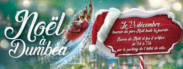 Annonce de Noël à Dumbéa