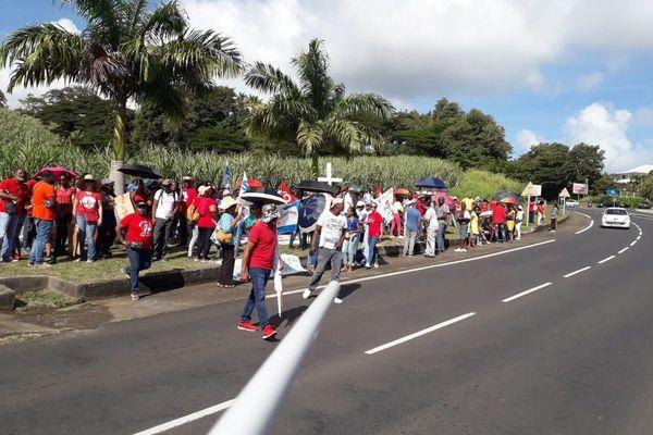 Grève éducation nationale Trinité 21 janvier 2020