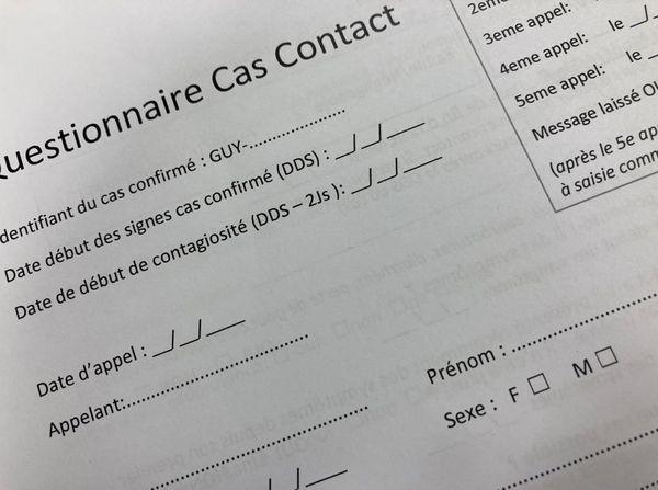 Questionnaire de l'ARS Guyane