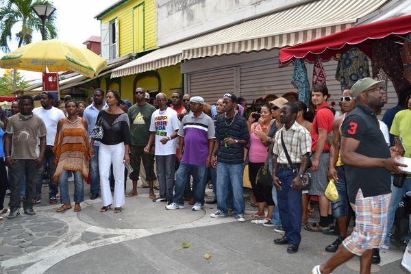 Osmose entre le public et les musiciens de Ka