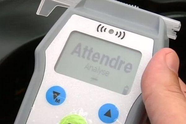 Contrôles routiers : appareil contrôle alcoolémie