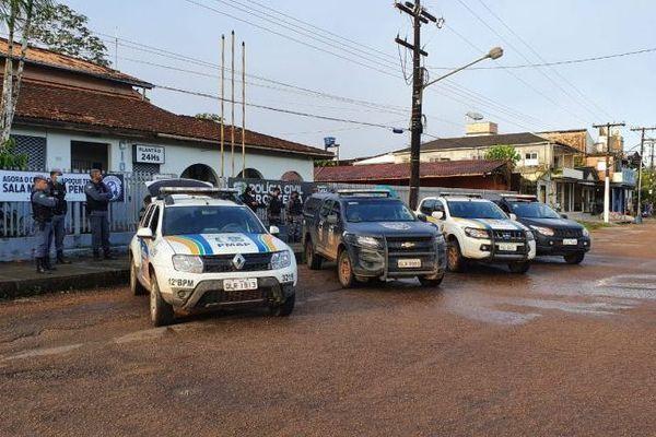 Opération police à Oiapoque