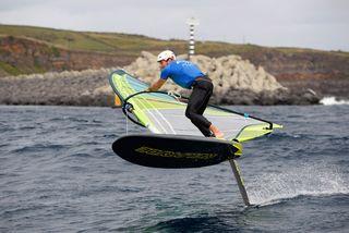 Thomas Goyard aux Championnats du monde de RS:X convertible