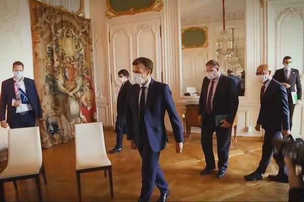 Les acteurs économiques et sociaux espèrent une entrevue avec le Président Macron