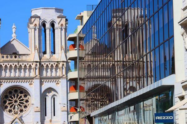 La basilique Notre-Dame de l'Assomption, à Nice, le 17 juin 2020.