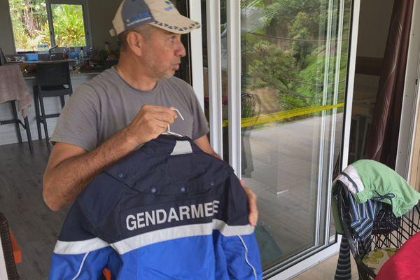 Michel Teuira, gendarme et covid positif
