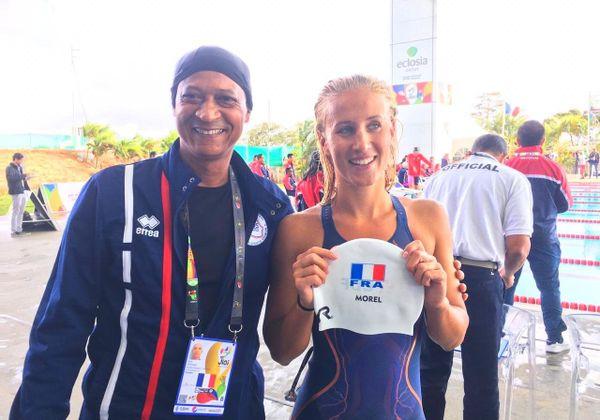 JIOI 2019 natation Alizée Morel, médaillée d'or au 400m 4 nages 190719