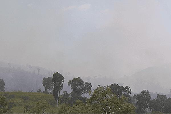 Un feu que l'on voit de loin.